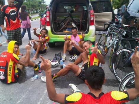 Jakarta! We did it!